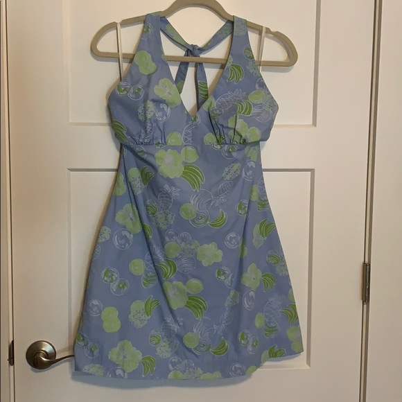 Lilly Pulitzer halter top style summer dress